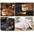 Cool Vigorous 3D Lion 5-Piece Comforter Sets
