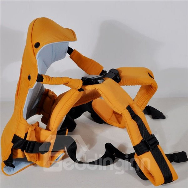 Comfortable Four Carry Ways Yellow Baby Carriers