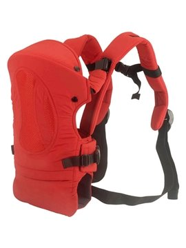 Comfortable Four Carry Ways Red Baby Carriers