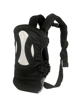 Comfortable Four Carry Ways Black Baby Carriers