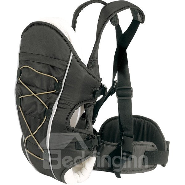 Upgrade Three Carry Ways Windproof Black Baby Carriers