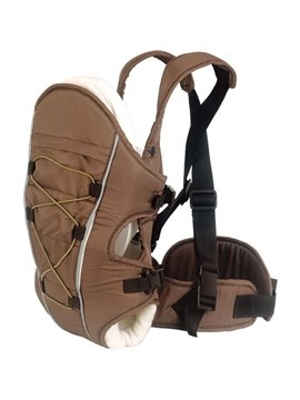 Upgrade Three Carry Ways Windproof Brown Baby Carriers