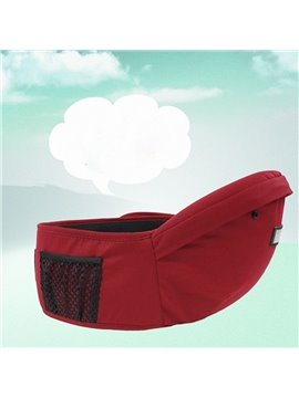 Super Comfortable Useful Cotton Baby Hip Seat with Pocket