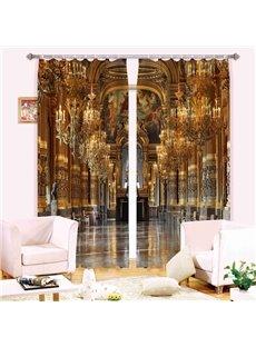Magnificent Scene 3D Energy Saving Curtain