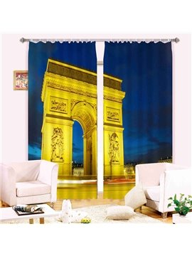 Magnificent Triumphal Arch  3D Blackout Curtain