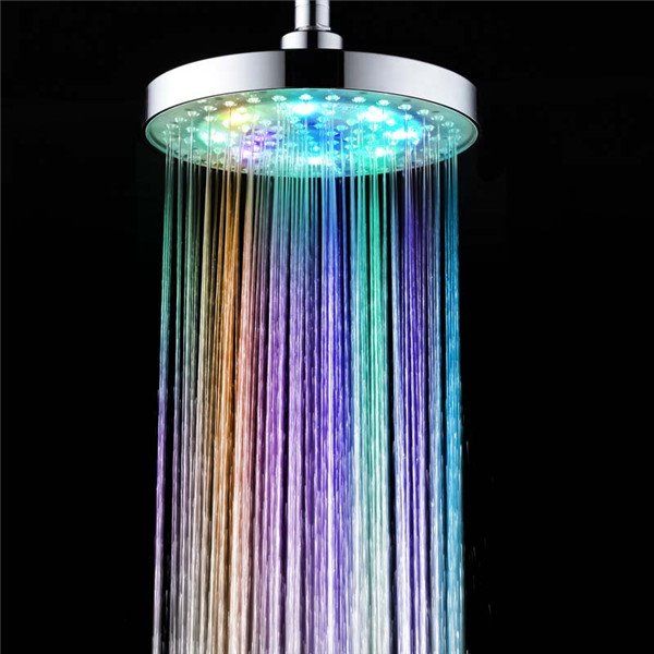 Magic Strong Water 7 Colors Led Light Shower Heads