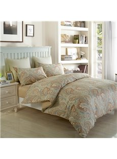 European Noble Style Jacquard Cotton 4-Piece Duvet Cover Sets