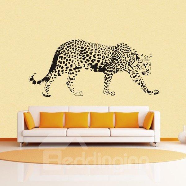 Majestic Snow Leopard Print Removable Wall Sticker