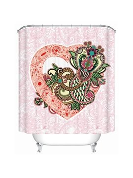 Charming Creative Unique Colorful Pattern Shower Curtain