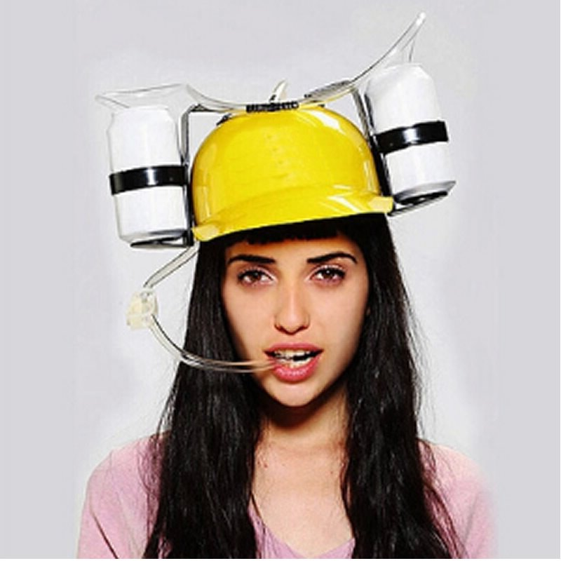 New Arrival Funny Design Fashionable Cap with Straws