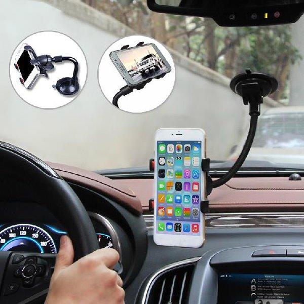 Distinctive Snake Shape Designed And Super Practical Car Phone Holder