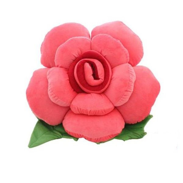 Top Class Soft Touching and Fashionable Design Rose Back Cushion