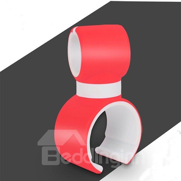 Light and Simple Mini Colorful Circular Car Phone Holder