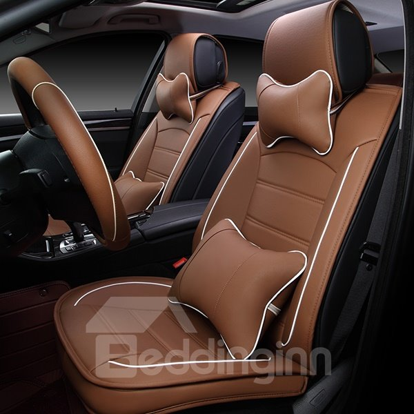 Super Classic Color And Fantastic Leather of Luxurious Car Seat Covers