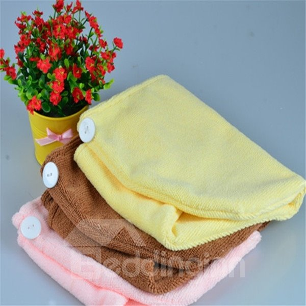 Thicken Super Absorbent Quick Dry Hair Towel