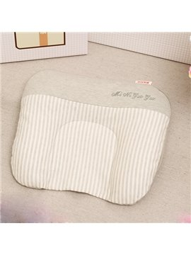 Natural Colored Cotton U-Shape Baby Pillow Prevent Flat Head