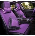 Comfortable And Elegant With Bright Multi-Color Ice Silk Car Seat Covers