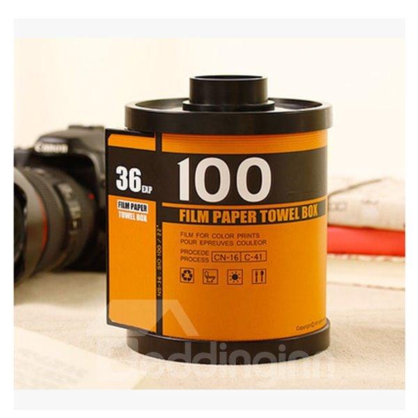 Fashion Style and Pratical Film Pattern Tissue Box