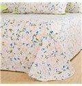 Elegant Pastoral Flowers Style 4-Piece Duvet Cover Sets
