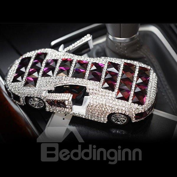 Elegant Crystal and  Luxurious Design Car Shape Car Fragrance Base