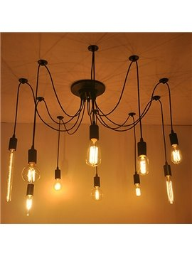 Retro Creative Edison Light 10-Head Pendant Lights