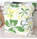Elegant Green Grass Comfortable Cotton Throw Pillowcase