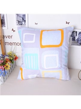Fancy Modern Geometric Figure Free Style Throw Pillowcase