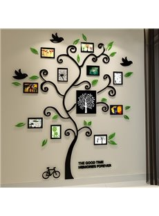 Fantastic Family Tree 3D Sticker Wall Photo Frame