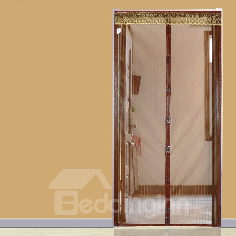 Mosquito Net Magnets Mesh Brown Durable Magnet Curtain