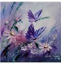 Gorgeous Butterfly and Flower 1-Piece DIY 3D Diamond Sticker