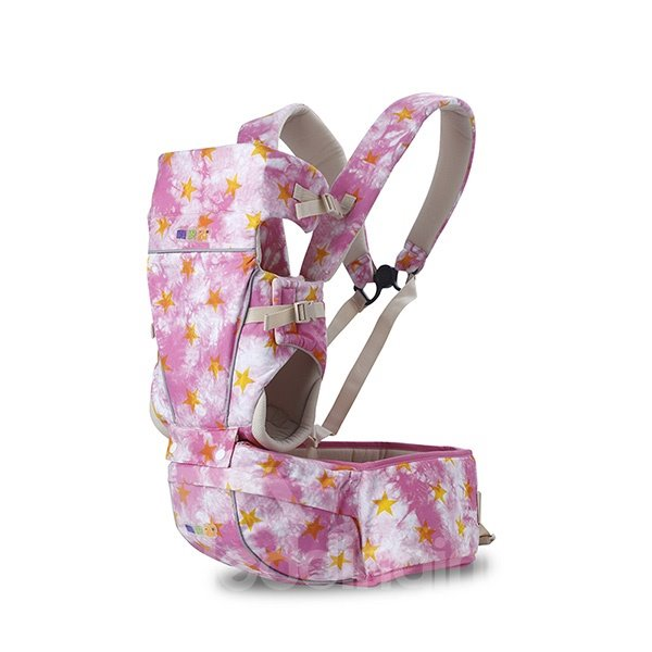 Bright Color Comfortable Multi-functional Baby Carrier