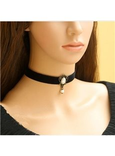 New Arrival Unique European Style Beautiful Lace Necklace