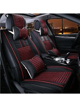 Fashionable Contrast Color Design And Business Type Car Seat Covers