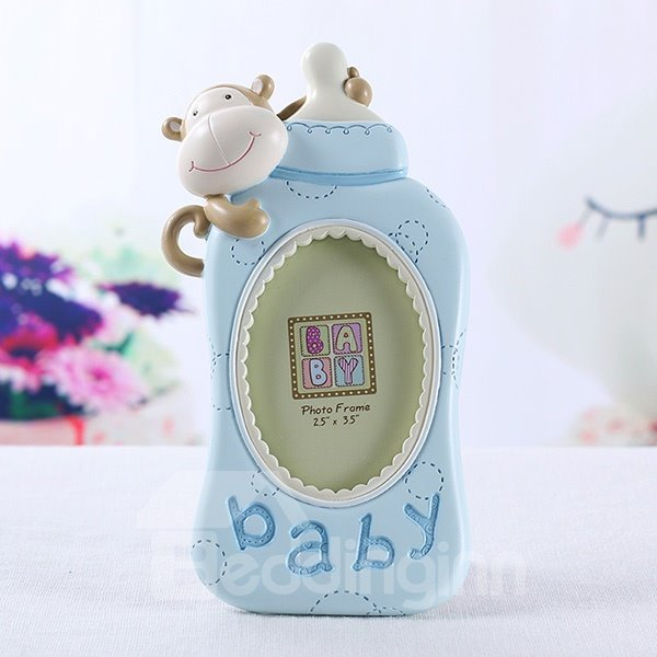 Super Cute Baby Bottle Resin Photo Frame