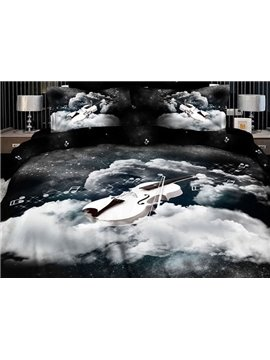 Dreamlike Angelic Voices Design 2-Piece Pillow Cases