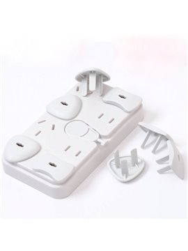 28-Piece Electrical Outlet Covers Set for Baby and Kids