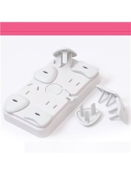 Electrical Outlet Covers 8-Piece Set for Baby and Kids