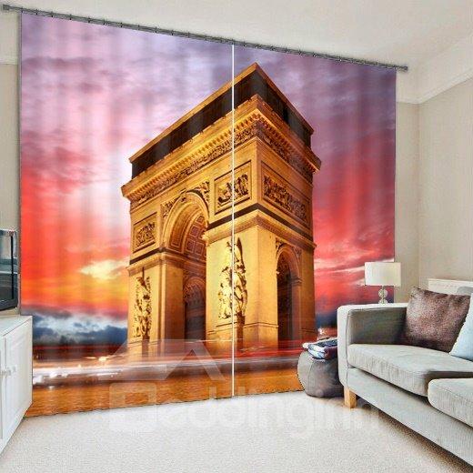 Splendid Scene Energy Saving & Light Blocking 3D Curtain