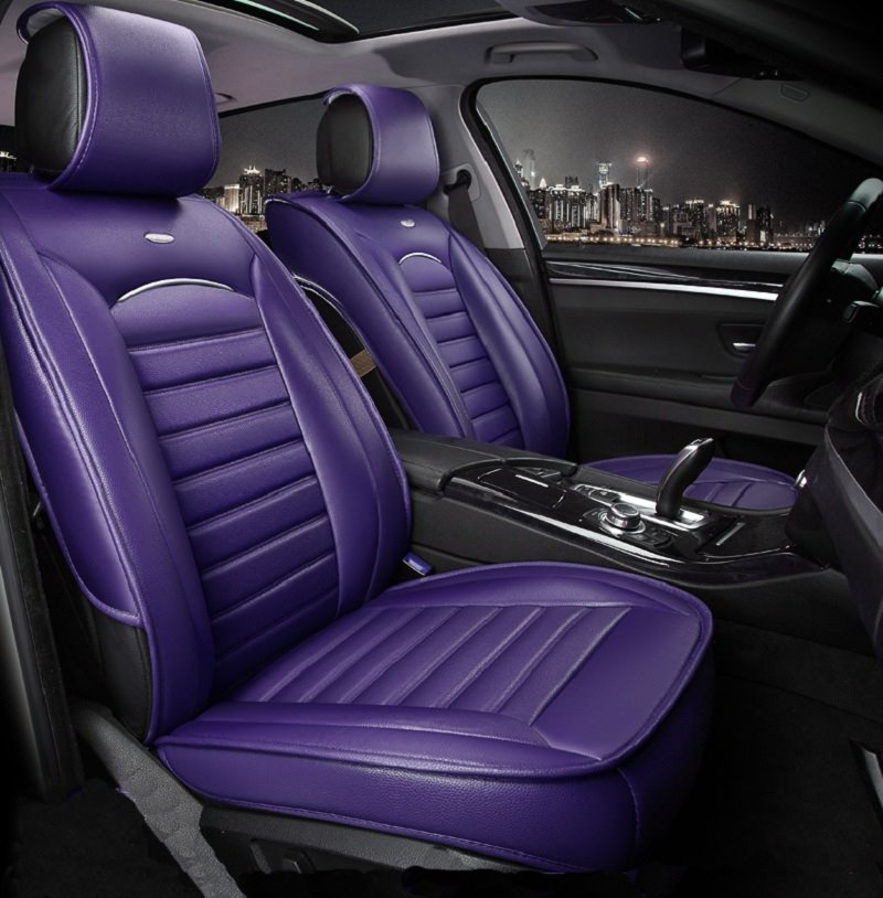 classic solid color design luxurious style eco friendly material car seat cover. Black Bedroom Furniture Sets. Home Design Ideas