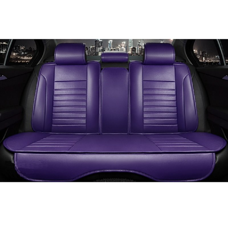 Classic Solid Color Design Luxurious Style Eco-Friendly Material Car Seat Cover