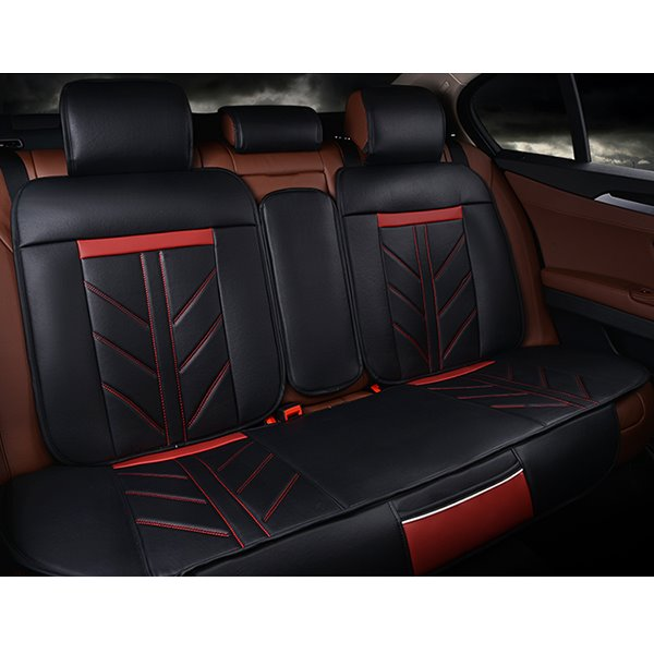 Special Charming Design PU Leather Material Universal Five Car Seat Covers