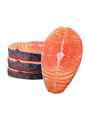 High Quality Creative Novelty Lifelike Salmon Pattern Cushion