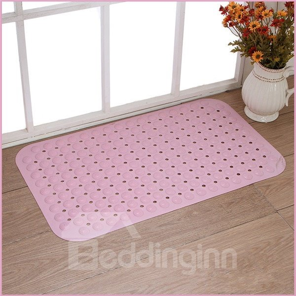 Super Skid-resistant Back Waterproof Pure Color Bath Mats