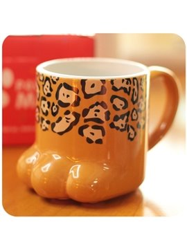 Irresistible Super Cute Cat Paw Design Porcelain Coffee Mugs