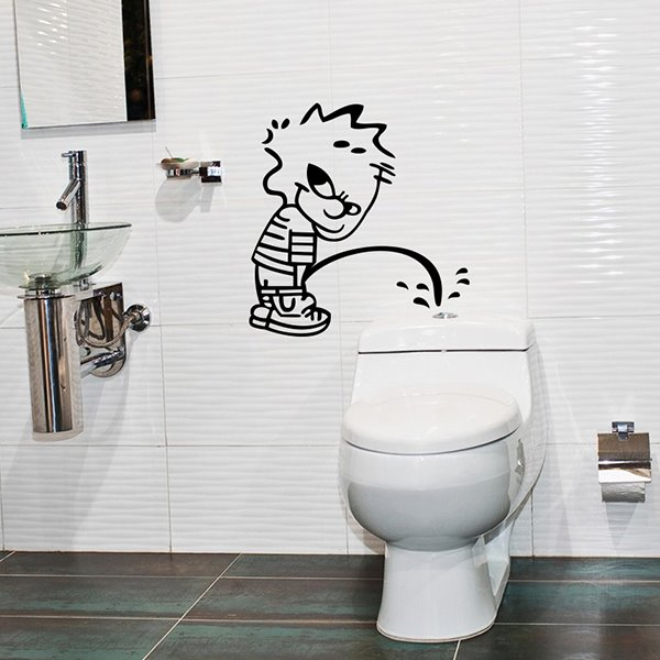 Unique Design Bad Boy Pattern Decorative Wall Stickers