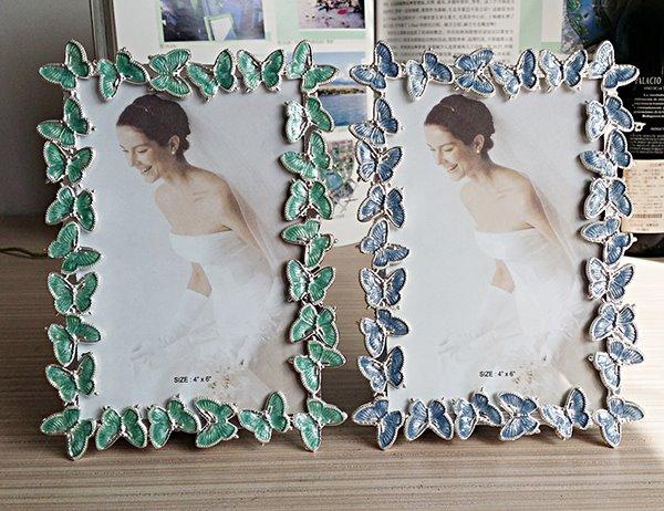 Amazing Butterfly Framed Decorative Multi-Color 8-inch Desktop Photo Frame