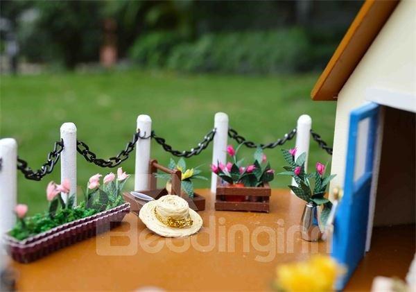 Elegant Big Pinwheel Style Sound Control DIY Musical House