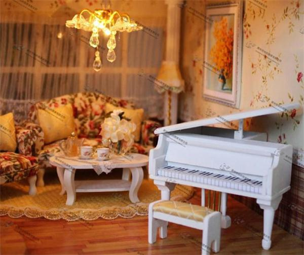 Splendid Grand Good Quality Sound Control Musical DIY House