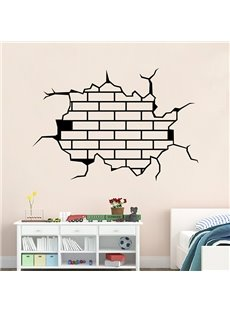 Amazing 3D Broken Walls Removable Wall Sticker