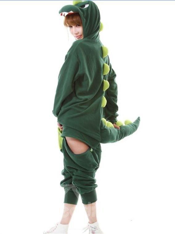 Cosy and Comfort Unique Dinosaur Design One-Piece Sleepwear